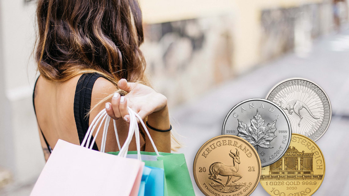 Mit Gold- und Silbermünzen zum Shopping, geht das?