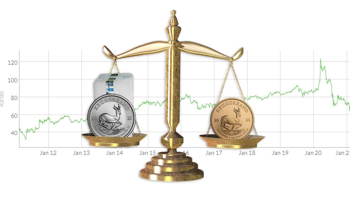 Was ist die Gold-Silber-Ratio und wie kann der Chart Anlegern helfen?